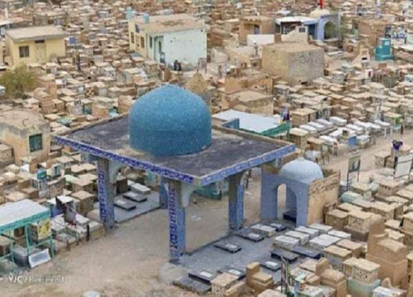 انفجار مزار ابومهدی المهندس