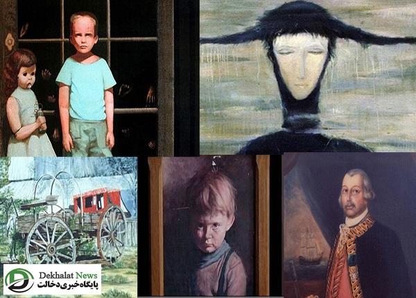 ۵ تابلوی نقاشی نفرین شده!