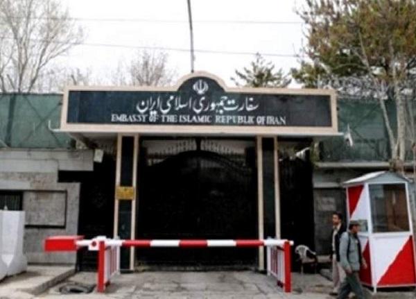 اصابت موشک سفارت ایران در کابل