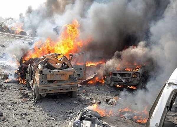 انفجار خودرو بمب گذاری شده سوریه