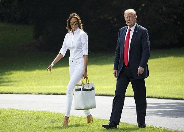 طلاق ملانیا از ترامپ