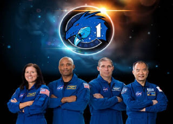 ماموریت فضانوردان Crew-1