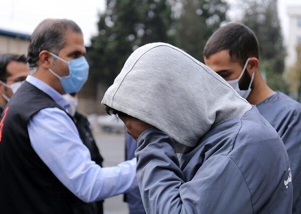 دستگیری زورگیران آزادراه تهران شمال