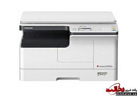 نگاهی به یکی از بهترین های توشیبا؛ دستگاه کپی توشیبا E-STUDIO 2303A