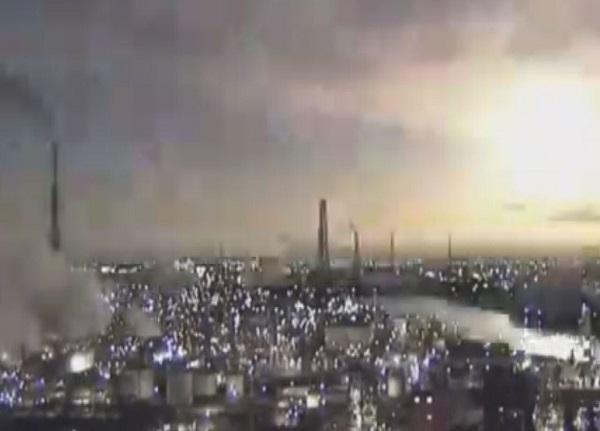 انفجار شهاب سنگ در ژاپن