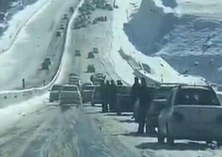 تصادف زنجیرهای وحشتناک در آزاد راه تازه تاسیس تبریز