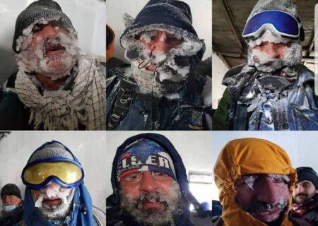 کوهنوردانی که در ارتفاعات دارآباد تهران یخ زدند