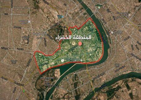 حمله راکتی گسترده به سفارت آمریکا در بغداد + فیلم
