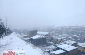 اردبیل، سرما و بارش سنگین برف