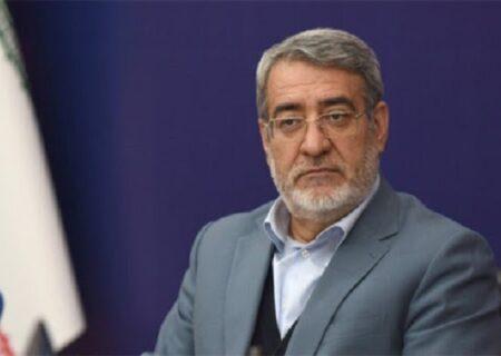 توضیحات وزیر کشور در مورد نحوه برگزاری انتخابات در شرایط کرونا + فیلم