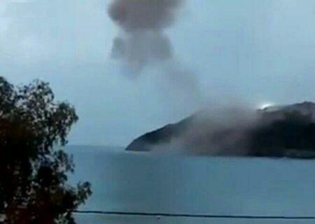 انفجار دینامیت در نیروگاه هسته ای ترکیه + ویدیو