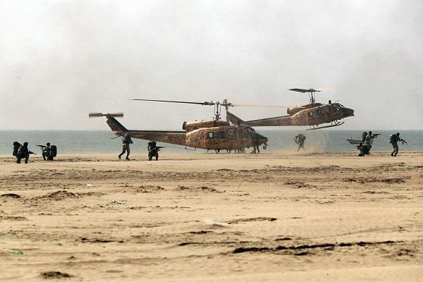 رزمایش نیروی زمینی ارتش در مکران