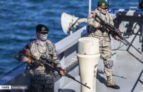 بزرگترین شناور نظامی کشور ناوبندر مکران به ناوگان نیروی دریایی ارتش پیوست