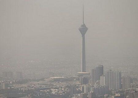 هوای تهران همچنان آلوده است | ادامه وضعیت قرمز در پایتخت