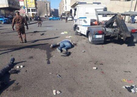 ۱۲ کشته و بیش از ۲۰ زخمی در انفجار دو انتحاری مرکز بغداد + ویدیو