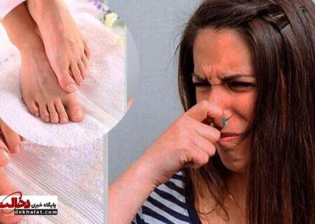 نکاتی برای از بین بردن بوی کفش و پا