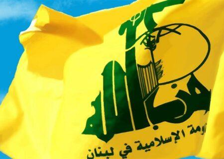 ساقط شدن پهپاد رژیم صهیونیستی توسط حزب الله لبنان