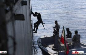 اجرای عملیات آزادسازی کشتی ربوده شده توسط دزدان دریایی