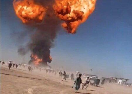 جزئیات انفجار در گمرک اسلام قلعه افغانستان + فیلم
