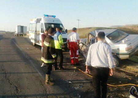 تصادف سه خودرو در مسیر زاهدان  به خاش با ۱۴ کشته و ۱۱ مصدوم
