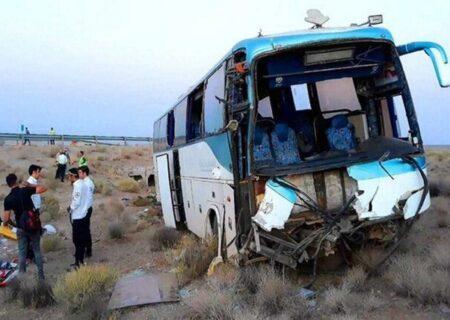 ۳۵ کشته و مصدوم در تصادف اتوبوس با کامیون محور کهنوج به رودان هرمزگان