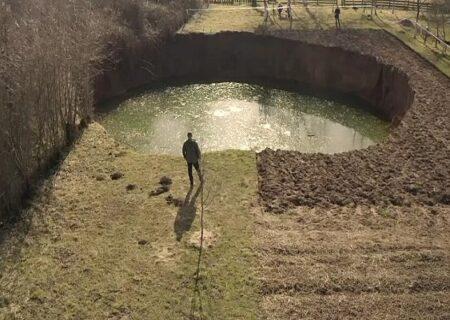 شکل گیری یک پدیده عجیب پس از زلزله کرواسی