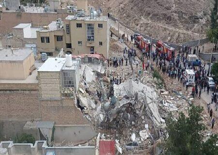 انفجار مرگبار دو واحد مسکونی در جهرم + ویدیو