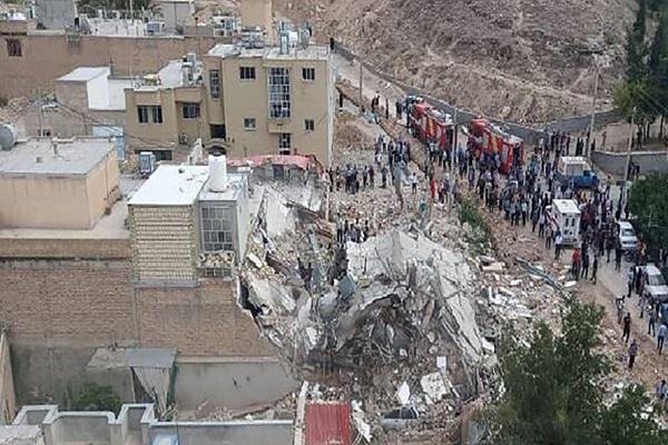 انفجار دو واحد مسکونی در جهرم