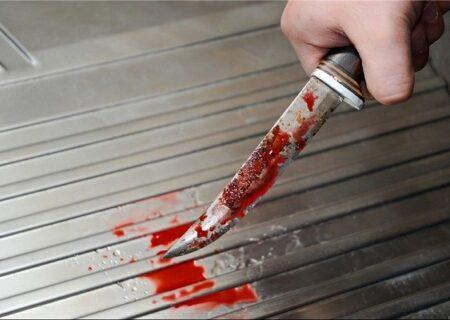 مردی که با چاقو وسط جاده آتشگاه کرج گلوی همسرش را برید!
