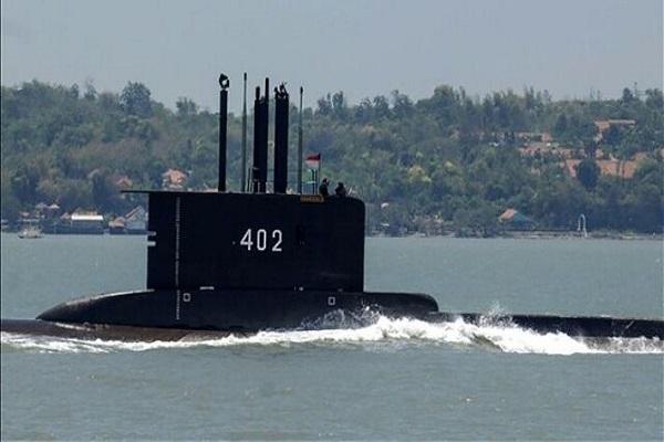 غرق شدن زیردریایی اندونزی