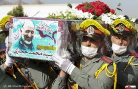 برگزاری مراسم تشییع پیکر شهید سردار حجازی در اصفهان