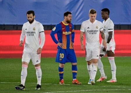 خلاصه بازی رئال مادرید ۲ – ۱ بارسلونا