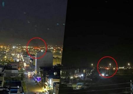 حمله راکتی به پایگاه نیروهای آمریکایی در اربیل عراق + ویدیو