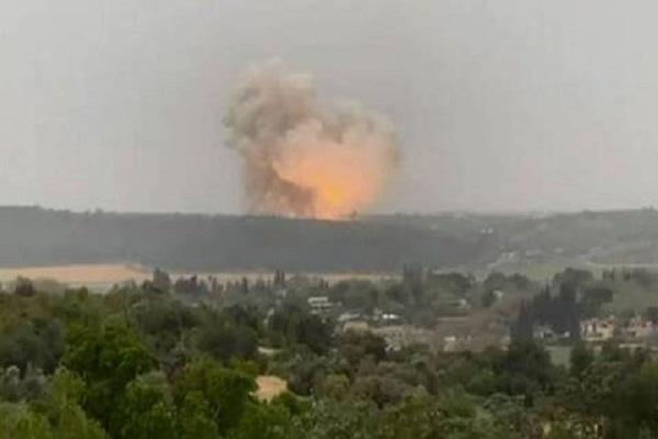 انفجار موشک در تأسیسات هسته ای دیمونا