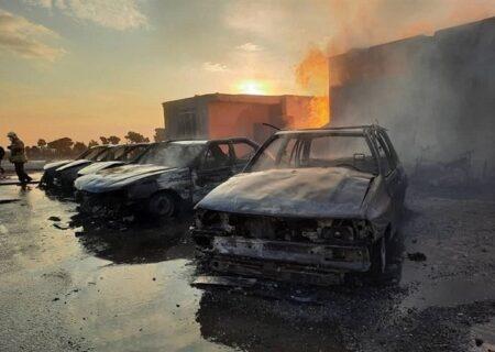 عامل آتش زدن ۴ دستگاه خودرو در خیابان دیباجی استان تهران بازداشت شدند