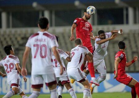 خلاصه بازی پرسپولیس ایران ۰ – ۱ الوحده امارات