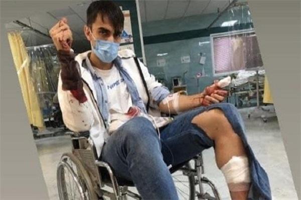 حمله سارقین به سینا زامهران