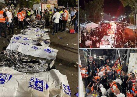 ۵۰ کشته و ۱۵۰ زخمی در حادثه سقوط پل در فلسطین اشغالی + ویدیو