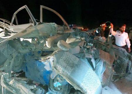 تصادف پژو و وانت در محور زاهدان به خاش ۵ کشته و ۳ مجروح برجای گذاشت
