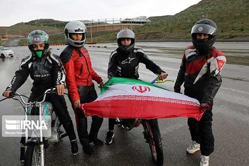 موتورسواری زنان در روز قدس