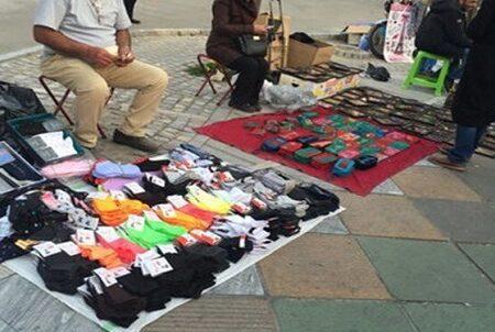 کتک زدن یک دستفروش توسط ماموران شهرداری در شهر ری + ویدیو