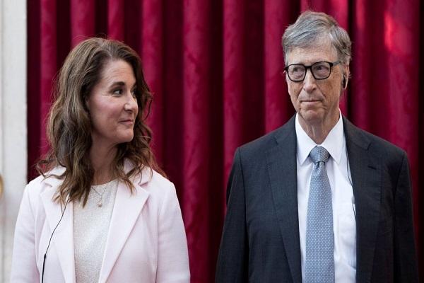 طلاق بیل گیتس و همسرش
