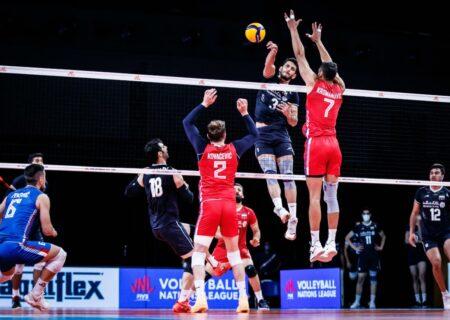 ایران ۲- صربستان ۳ ؛ باخت والیبال ایران  به غول ۲۰۲ سانتیمتری