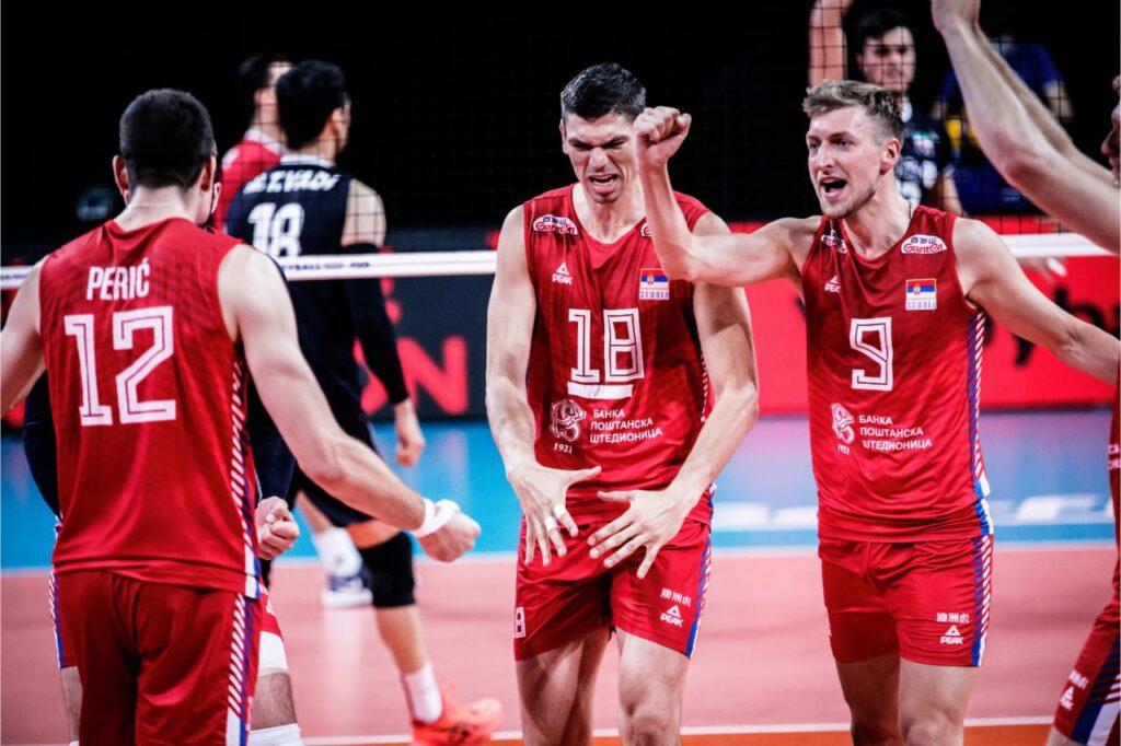 صربستان تیم ملی والیبال ایران را شکست داد