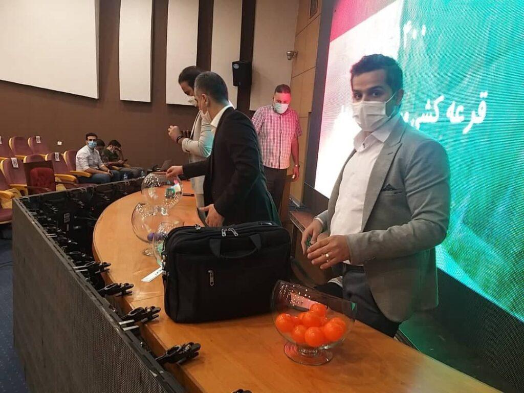 قرعه کشی جام حذفی و رویارویی استقلال و پرسپولیس