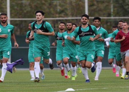 برنامه کامل تیم ملی در مقدماتی جام جهانی