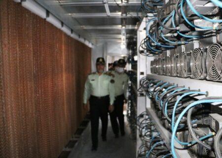 کشف بزرگترین مزرعه رمز ارز کشور در تهران/ مصرف ۴ درصد از برق کل کشور+عکس