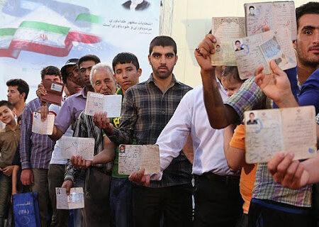 وضعیت صندوقهای رای در ساعات پایانی رایگیری