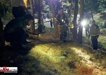 انفجار شی ناشناس در پارک ملت تهران