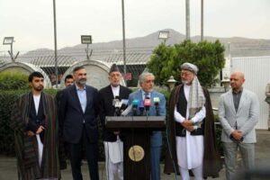 مذاکرهی هیأت بلندپایه دولت افغانستان